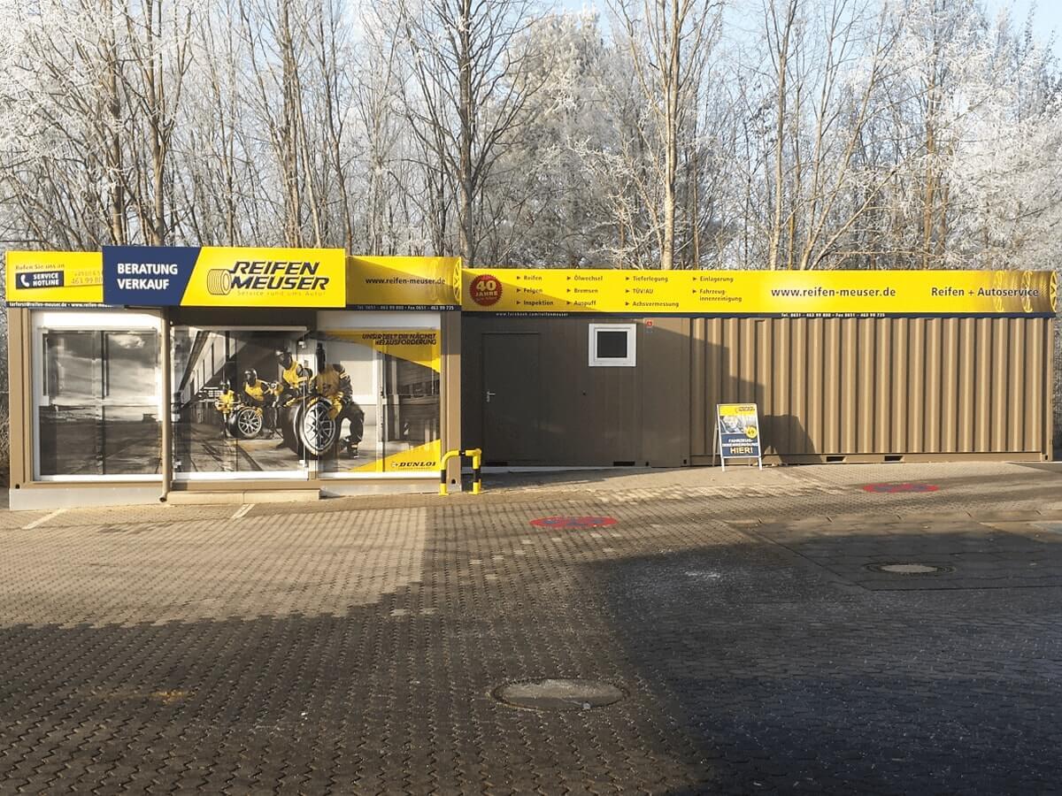 Reifen Meuser GmbH - Schildanlage