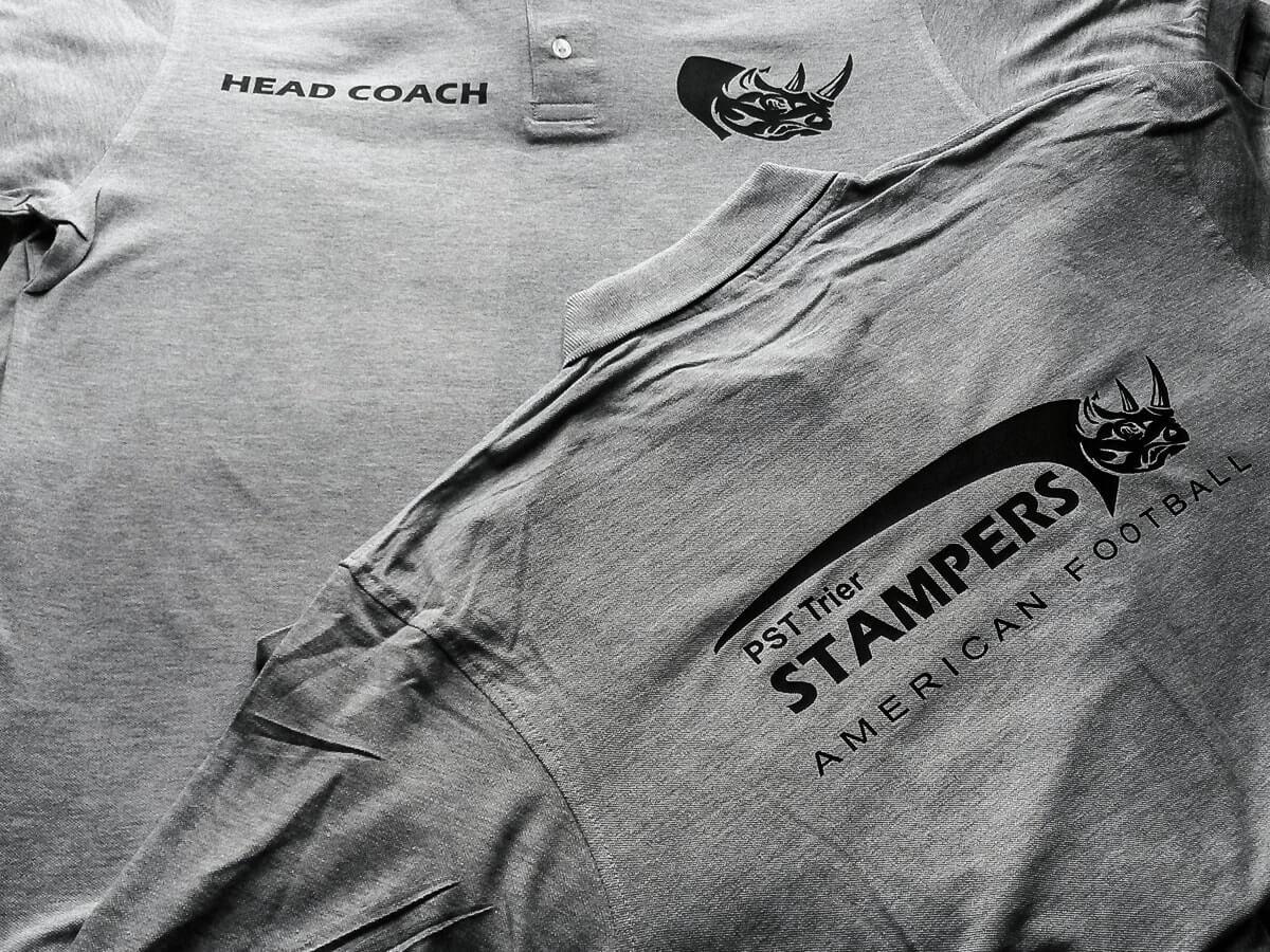 PST Trier Stampers - Bekleidung für das Coaching-Team