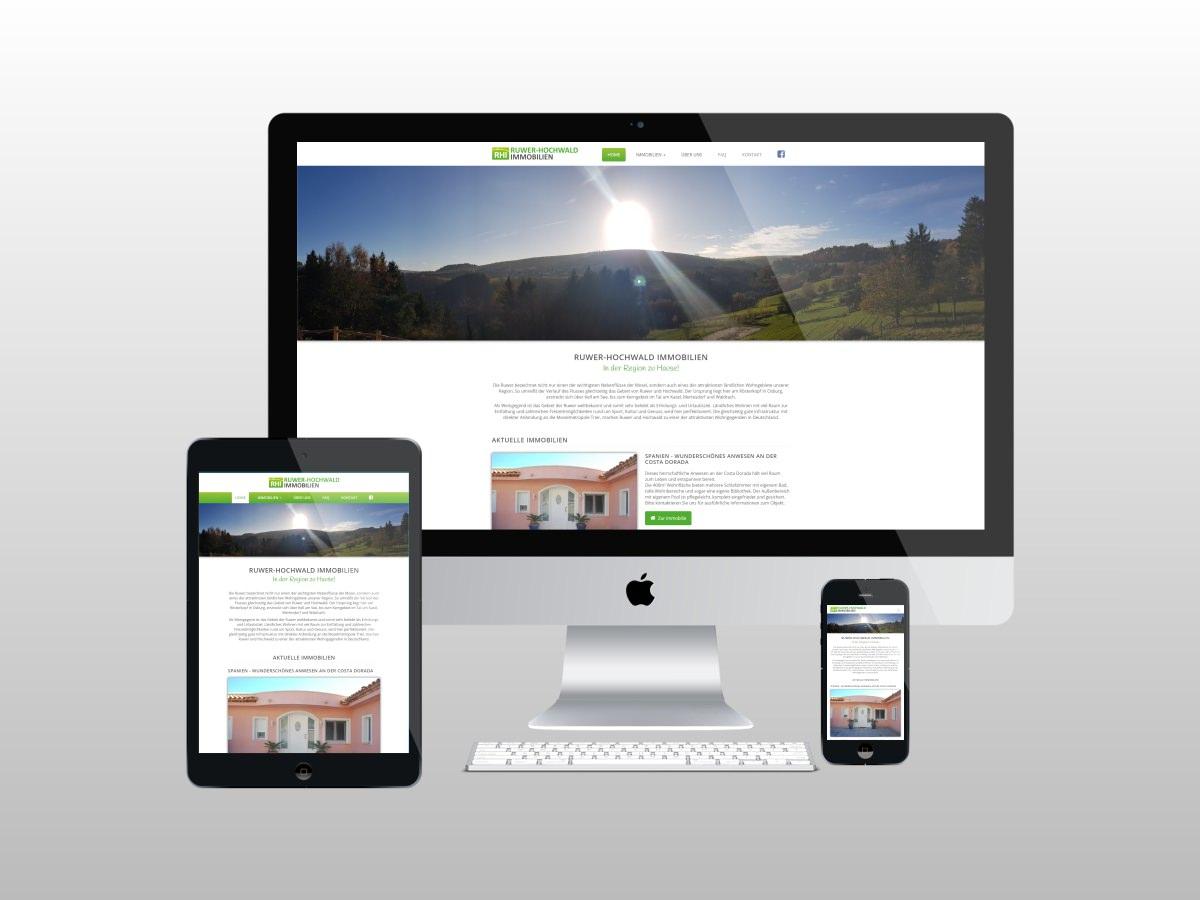 Ruwer-Hochwald Immobilien - Neue Website