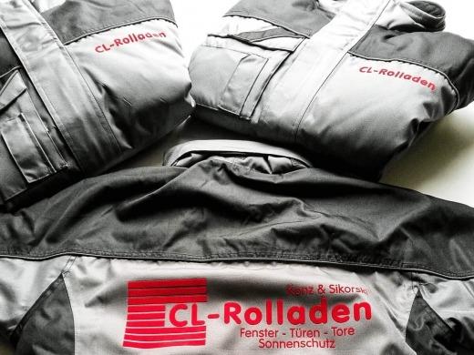 CL-Rolladen - Beflockung von Jacken