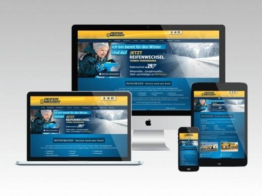 Reifen Meuser GmbH - Relaunch des Internetauftrittes