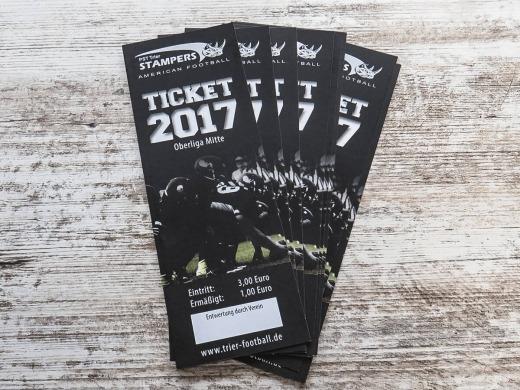 PST Trier Stampers - Eintrittskarten